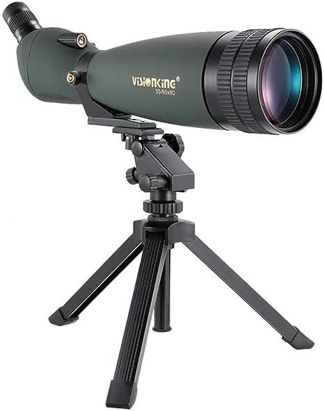 DOTXX Telescopio Terrestre Profesional 30-90x, 90mm Lente Grande ...