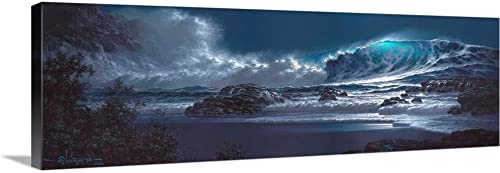 Symphony of The Sea Canvas Wall Art Print
