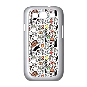 Chinese My neighbor Totoro Customized Case for Samsung Galaxy S3 I9300,diy Chinese My neighbor Totoro Phone Case