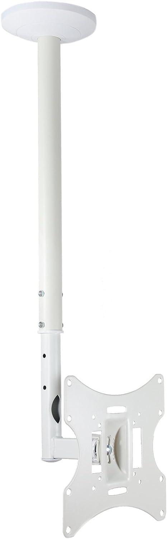 LCD-504AW - Soporte de techo inclinable para televisores de 23, 26, 32, 40 y 42 pulgadas, color blanco: Amazon.es: Electrónica