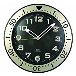 Timekeeper 515BB 12-Inch Round Glow-In-the-Dark Wall Clock