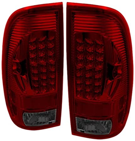 Spyder Auto ALT-ON-FF15097-LED-BK Ford F150 Styleside//F250//350//450//550 Super Duty Black LED Tail Light