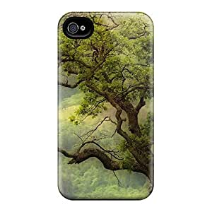 New Style Finleymobile77 Hard Cases Covers For Iphone 6plus- Tree Growing In A Cliff