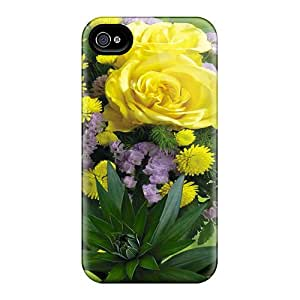 Durable Cases For The Iphone 6- Eco-friendly Retail Packaging(bouquet Flowers)