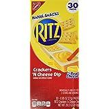 Ritz Handi Snacks Crackers 'n Cheese Dip - 30 SNACK PACKS of 0.95 oz