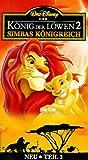 Der König der Löwen 2 - Simbas Königreich [VHS]