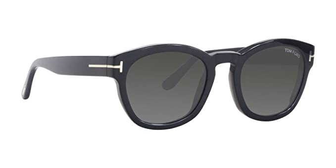 bafe78b34b0 Image Unavailable. Image not available for. Color  Sunglasses Tom Ford FT  0590 Bryan- 02 01D shiny black   smoke polarized