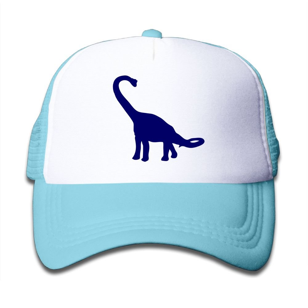 Xin Pilig Blue Dinosaur Youth Toddler Mesh Hats Boys and Girl Baseball Trucker Cap