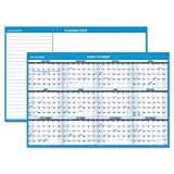 AT-A-GLANCE 2014 Horizontal Erasable Yearly Wall Planner, 48 x 32 Inches (PM300-28)