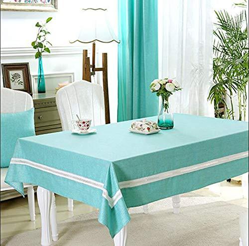 B 160CM160CM Nappes Accueil Tissu Imperméable Table en Tissu à Usage Unique Table De Café Anti-brûlure l'huile Nappe Rectangulaire Table à Manger Moderne