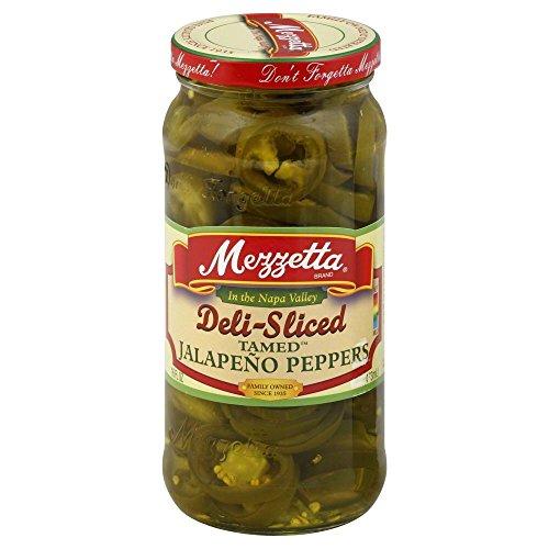 (Mezzetta Jalapeno Pepper Sliced 16.0 OZ(Pack of 2))