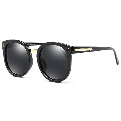 ZHIRONG Vintage Mode Runde Pfeil Stil Wayfarer polarisierte Sonnenbrille für Frauen, Sonnenschutzgläser, ( Farbe : 06 )