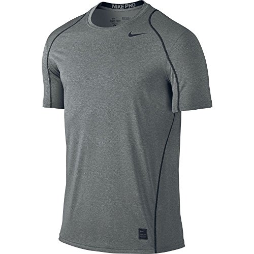 Nike Mens Pro Cool Fitted T-Shirt, S, Grey