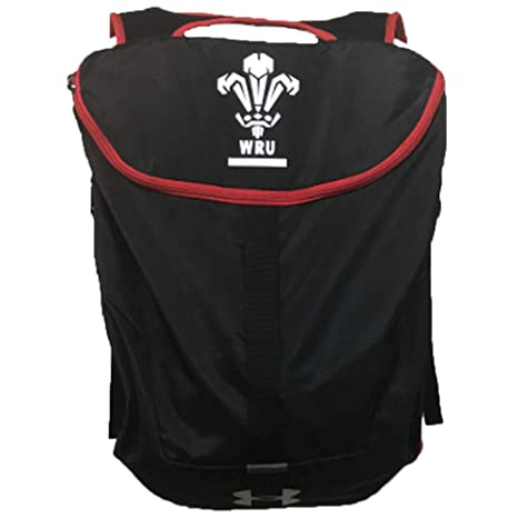 928d5b639e Amazon.com   Under Armour 2018-2019 Wales WRU UA Expandable Sackpack ...
