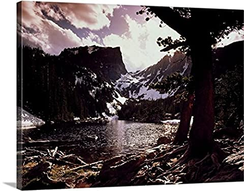 Canvas On Demand Premium Thick-Wrap Canvas Wall Art Print entitled Dream Lake Rocky Mountains CO - Colorado Rocky Mountain Natl Park
