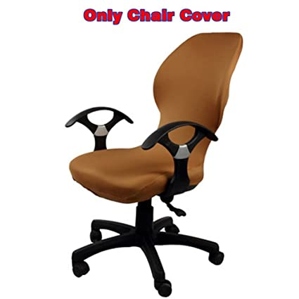 Table & Sofa Linens Popular Brand Fashion Office Chair Cover Solid Color Arm Chair Cover Seat Slipcover Stretch Rotating Lift Chair Covers Chair Cover