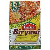 Laziza Biryani Masala, 100-Gram Boxes (Pack of 6)