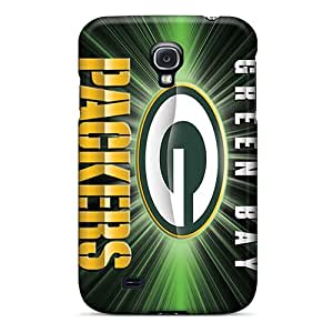Vvicky Galaxy S4 Well-designed Hard Case Cover Green Bay Packers Protector