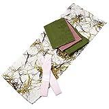 Womens Cotton Yukata 3items set Japanese Summer Kimono Branches Free size