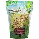 Food To Live Organic Cashews (Whole, Raw) (1 Pound)