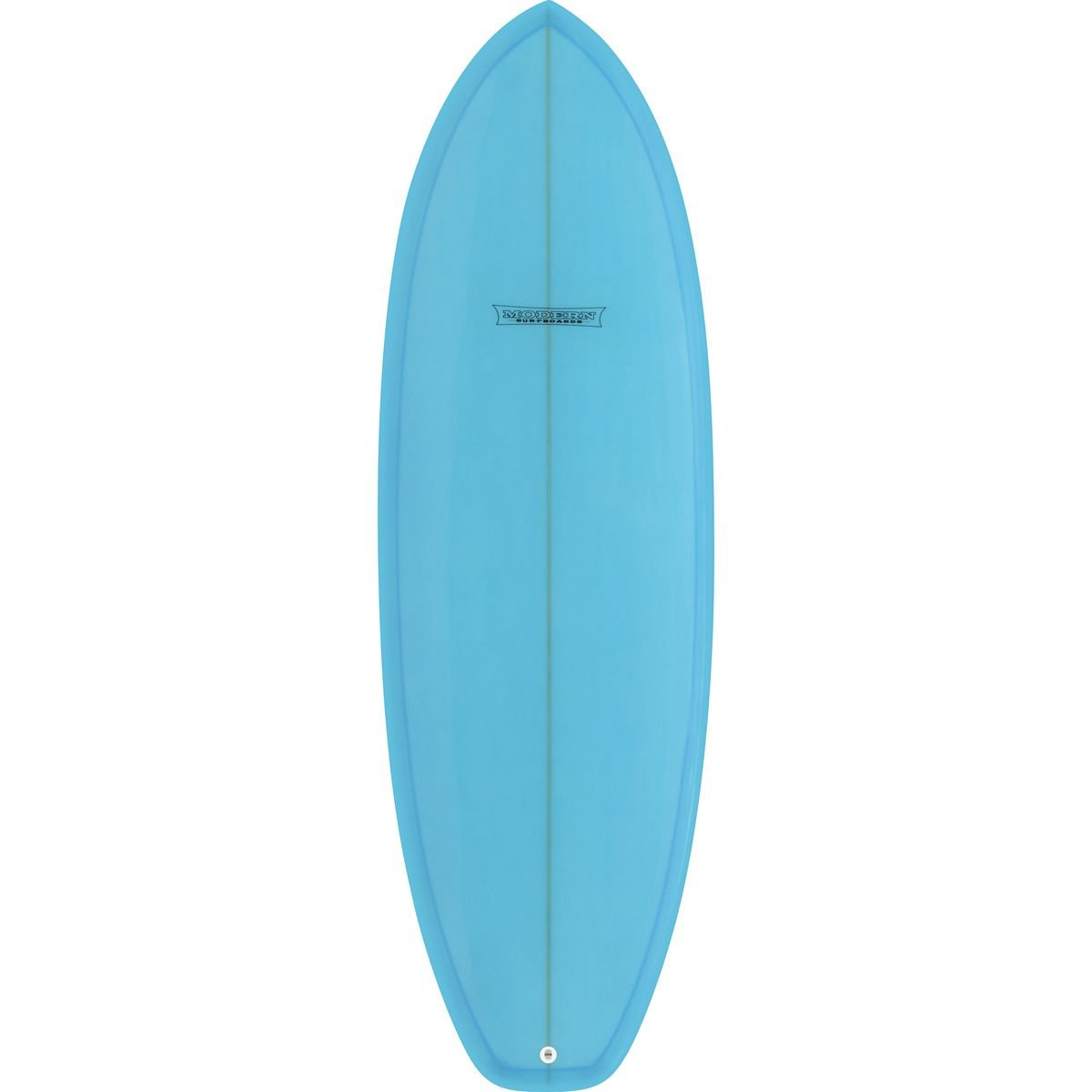 Modern Surfboards Highline PU Surfboard Ice Blue Tint, 5ft 4in by Modern Surfboards