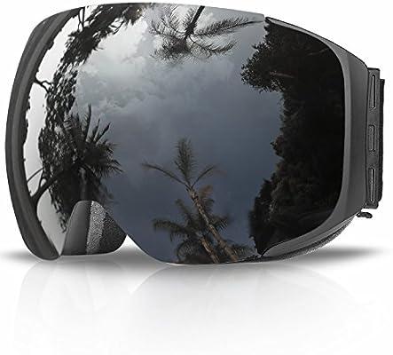 Gafas de Esquí, eDriveTech Máscara Gafas Esqui Snowboard Nieve Espejo para Hombre Mujer Adultos Juventud Jóvenes Chicos Chicas Anti Niebla Gafas de ...