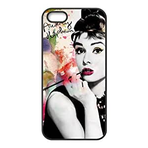 Audrey Hepburn Brand New And High Quality Hard Case Cover Protector For Iphone 5S
