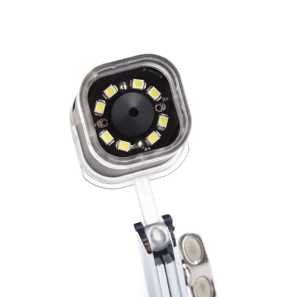 1000X 2MP Wireless Microscope,HD USB Microscope,Handheld Digital Microscope Magnifier Wireless WiFi Magnifier with LED Light