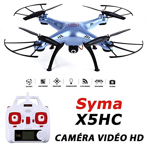 Drone quadricoptère Syma x5hc con cámara de vídeo HD 2 MP - Nueva ...