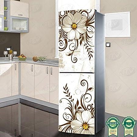 GJ-Rinnovato e decorato, impermeabile, rimovibile autoadesivo aria condizionata, attaccato al frigorifero incolla,50*120cm