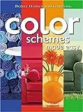 best home design color scheme Color Schemes Made Easy (Better Homes & Gardens)