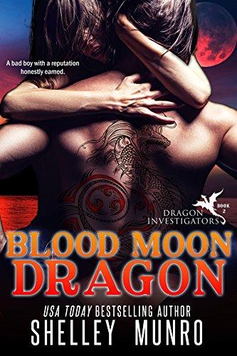 Blood Moon Dragon (Dragon Investigators Book 2) (Fairy Tales For Boys)