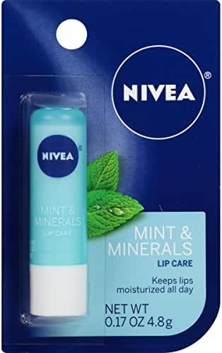 NIVEA Mint & Minerals Lip Care 0.17 Ounce Carded Pack
