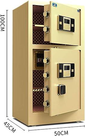 Caja De Seguridad Digital De Acero Depósito De Bloqueo De Seguridad Caja Digital De Doble Puerta