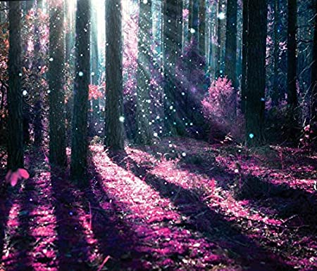 Azutura Enchanted Forest Wall Mural Purple Tree Photo Wallpaper Girls Bedroom Home Decor Available In 8