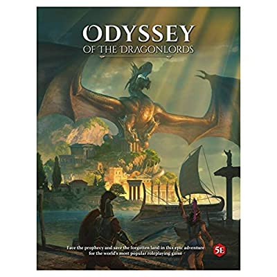 Odyssey of The Dragonlords RPG: Modiphius: Toys & Games