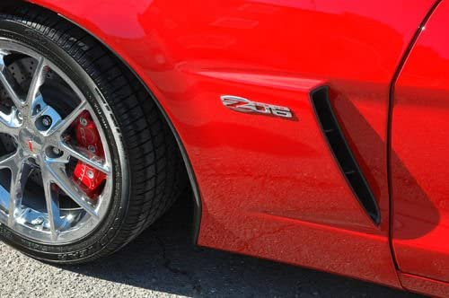 Yoaoo/®1x OEM Z06 Emblem Badge 505 Hp Fenderfor 2006-2013 Corvette C6