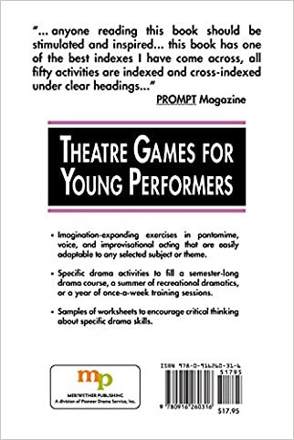 Theatre Games for Young Performers: Improvisations and Exercises ...
