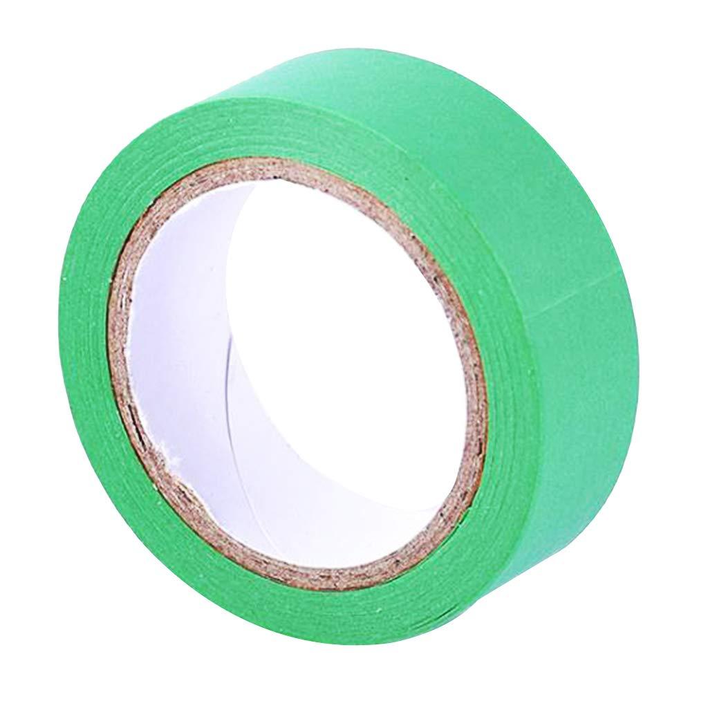 Gr/ün Fenteer 15mm x 100cm Papierklebeband Papier Klebeband Balsteln Band Farbwahl