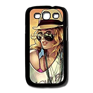 Samsung Galaxy S3/I9300 Cases Beauty Woman Design Hard Back Cover Shell Desgined By RRG2G