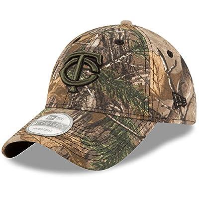 Minnesota Twins Realtree 9TWENTY Adjustable Hat/Cap