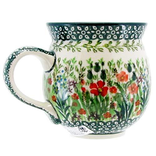 (Polish Pottery Signature Series 10 oz. Bubble Mug 070-U4335)