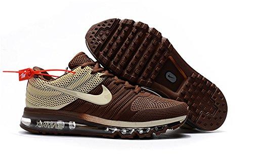 Air Max 2017 Mens Brown White 849560 312 Running Shoe