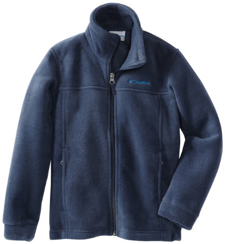 - Columbia Youth Boys' Steens Mt II Fleece Jacket, Soft Fleece with Classic Fit , Collegiate Navy , Small (8)