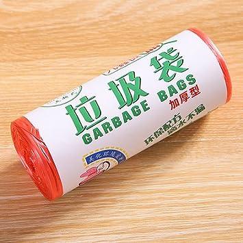 Grueso color de rollo bolsas desechables de plástico ...
