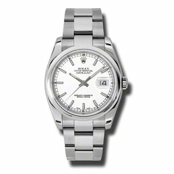 Rolex Datejust automatic-self-wind Mens Reloj 116200 (Certificado) de segunda mano: Rolex: Amazon.es: Relojes