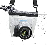 zonman DSLR Camera Univeral Waterproof Underwater Housing Case Pouch Bag for Canon Nikon Sony Pentax Brand Digital SLR Cameras from zonman