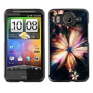 Dragon Case - FOR HTC G10 - Love makes man grow up - Caja protectora de pl??stico duro de la cubierta Dise?¡Ào Slim Fit