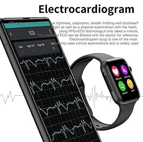 Amazon.com: IWO 10 ECG Smart Watch IWO 1: 1 Bluetooth Smart ...