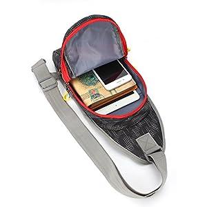 Shoulder Backpack, MALEDEN Lightweight Water Resistant Sling Unbalance Crossbody Bag for Girl Boy Gym Chest Pack